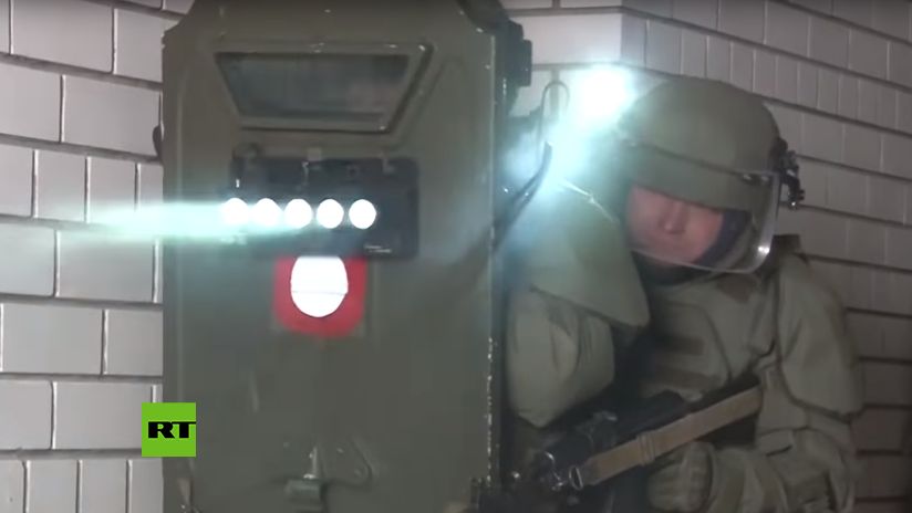 VIDEO: El moderno escudo del Ejército ruso que provoca alucinaciones entra en acción