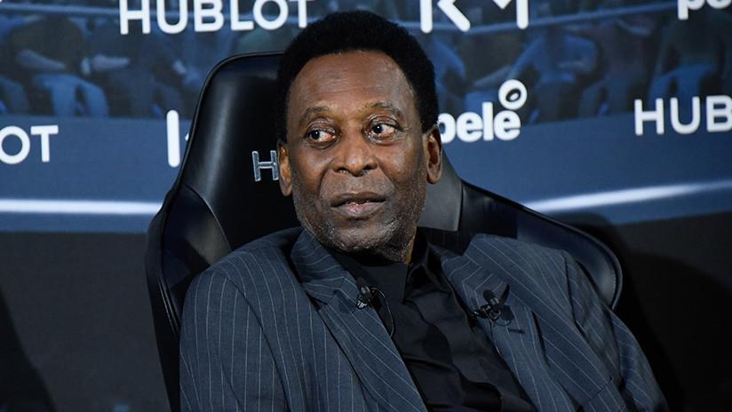 Hospitalizan a Pelé en París debido a un cuadro de fiebre alta
