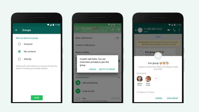 Los grupos de WhatsApp se despiden de su característica más molesta