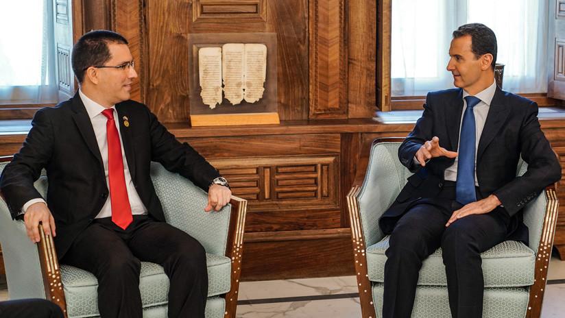 """Bashar al Assad: """"Lo que ocurre en Venezuela es similar a Siria"""""""