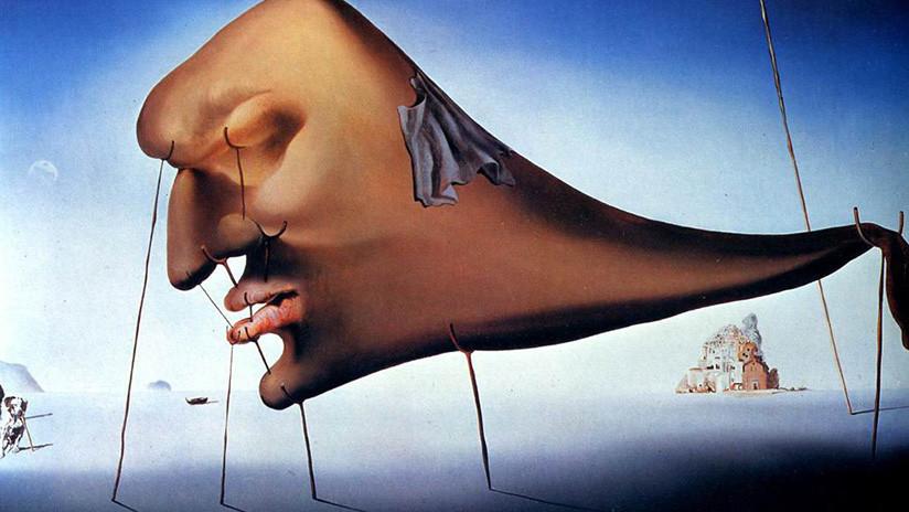 'El sueño' de Salvador Dalí sobrevuela el norte de Rusia