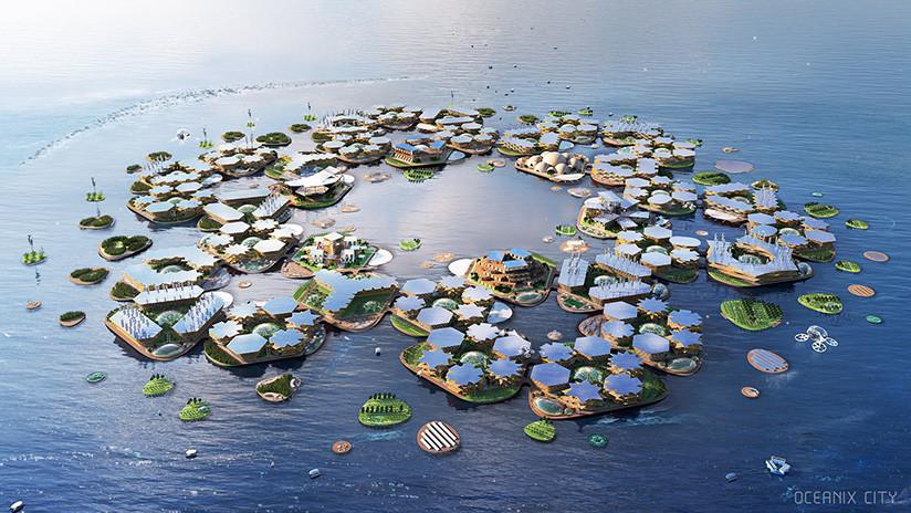 Nueva York desplegará un prototipo de ciudad flotante de madera para 'sortear' el cambio climático