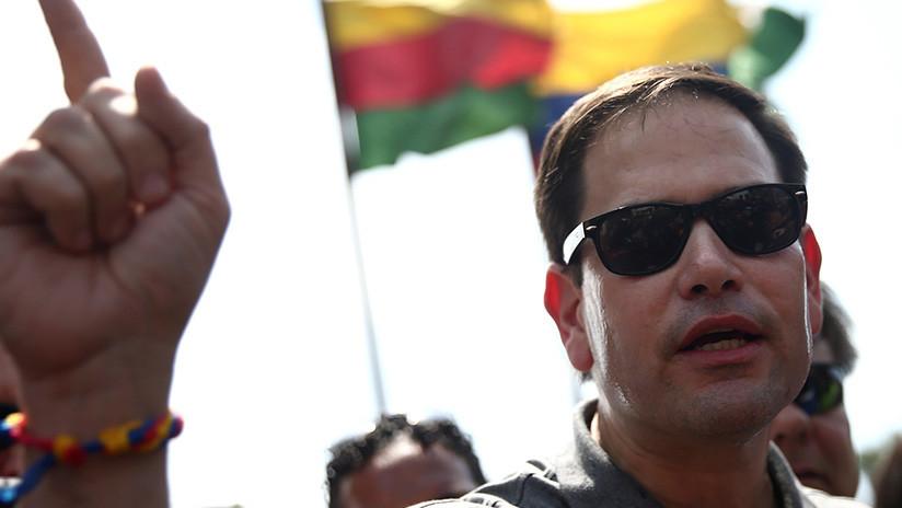 Marco Rubio pide al Departamento de Estado que incluya al Gobierno de Maduro en la lista de organizaciones terroristas extranjeras