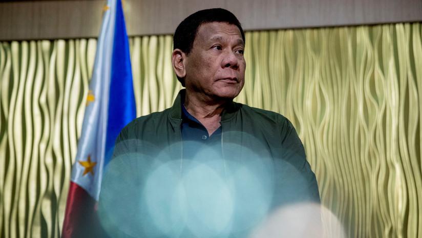 """""""Se tragaron el mar de la China Meriodional"""": Duterte amenaza con guerra si Pekín ocupa una de sus islas"""