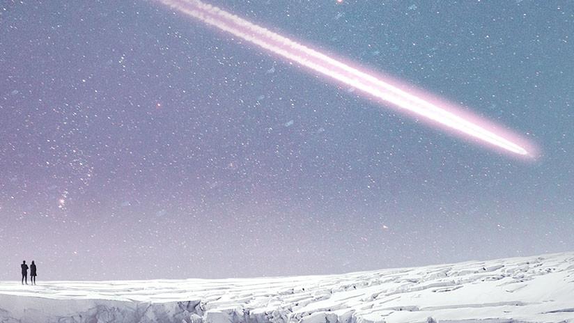 VIDEOS: Un meteoro atraviesa una ciudad rusa