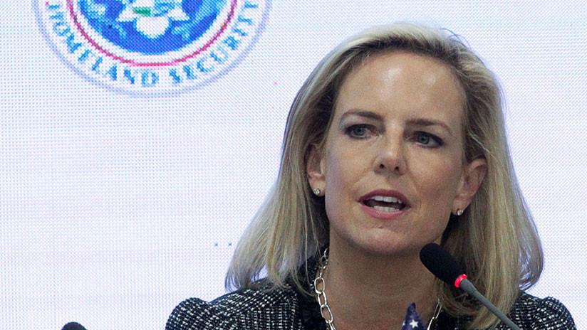 Renunció Nielsen, secretaria de Seguridad Nacional de Trump