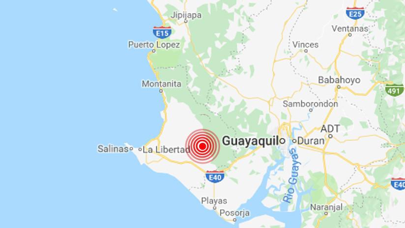 Un sismo de magnitud 5,3 sacude las costas de Ecuador