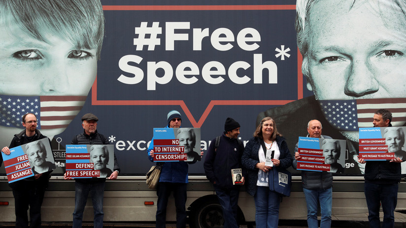 """""""Soy un riesgo de asesinato"""": Filtran un testimonio de Assange ante una corte ecuatoriana"""