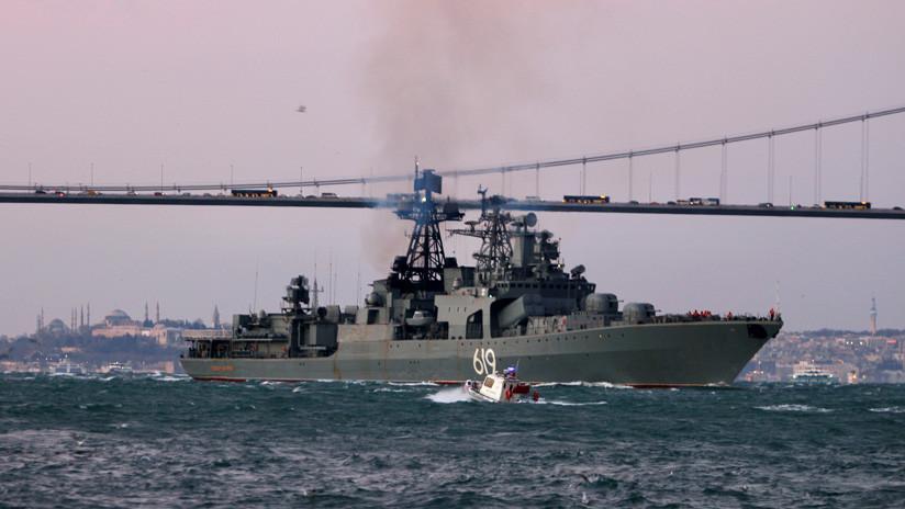 Rusia despliega un grupo naval en el mar Negro para realizar patrullaje durante los ejercicios de la OTAN