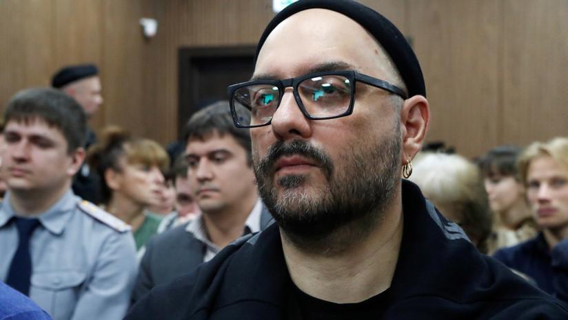 Levantan el arresto domiciliario al director de cine y teatro ruso Kirill Serébrennikov