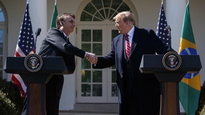 """Bolsonaro: Brasil y EE.UU. trabajan en crear """"fisuras"""" en el Ejército venezolano"""