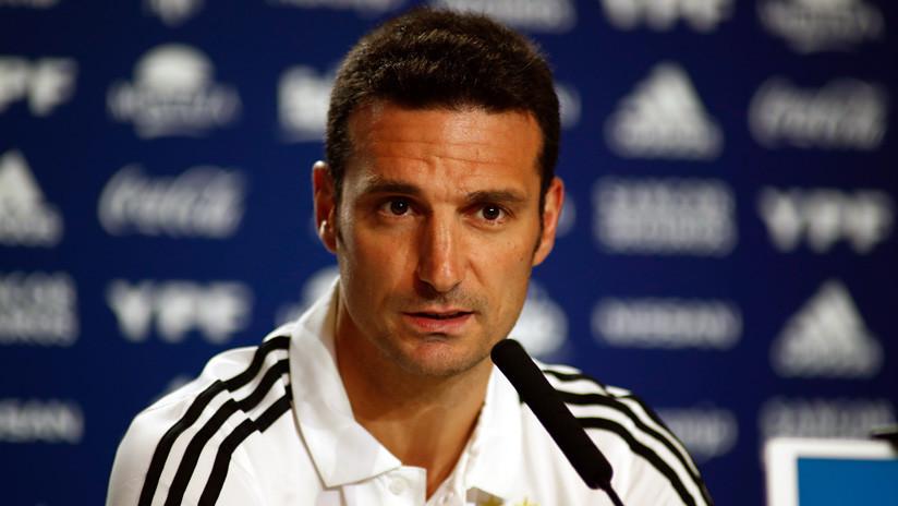Lionel Scaloni fue dado de alta tras un accidente - Deportivo