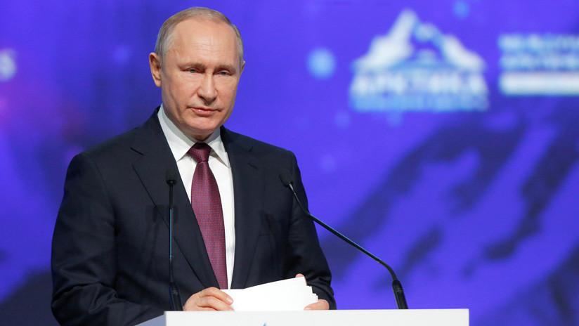 """Putin: """"Si los precios del petróleo caen por debajo de 40 dólares, la rentabilidad de la producción en EE.UU. se pondrá en duda"""""""