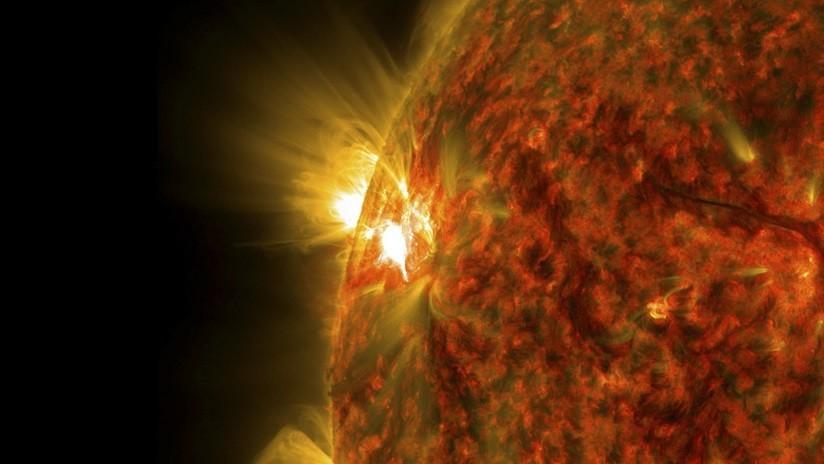 Científicos detectan 'lluvias' de plasma en estructuras menores del Sol