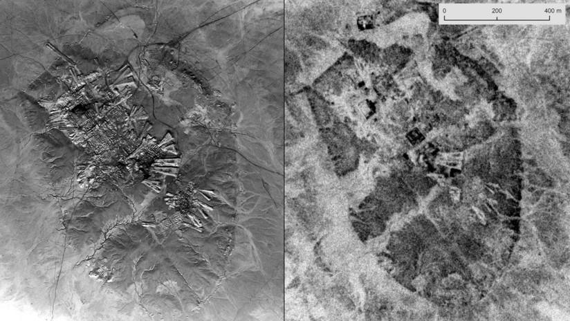 FOTOS: Imágenes espía desclasificadas abren la puerta a nuevos descubrimientos arqueológicos en Oriente Medio