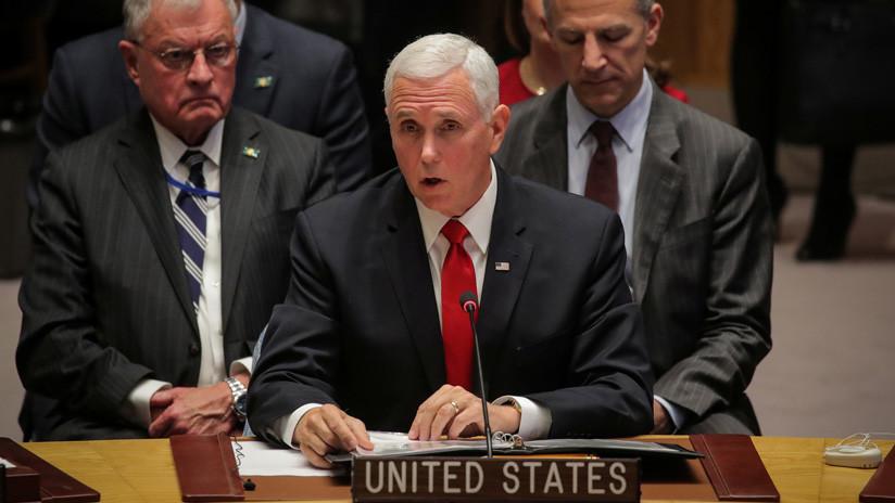"""Mike Pence anuncia que EE.UU. prepara """"nuevas acciones"""" contra Cuba por su """"influencia maligna"""" en Venezuela"""