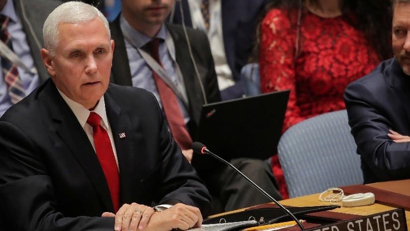 """EE.UU. pide a la ONU reconocer a Guaidó como """"mandatario legítimo"""" de Venezuela"""
