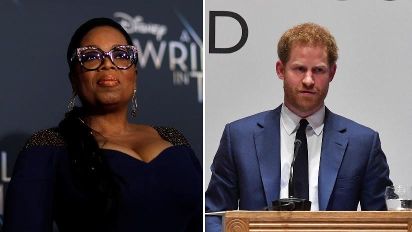 Serie sobre salud mental: proyecto del príncipe Harry y Oprah Winfrey