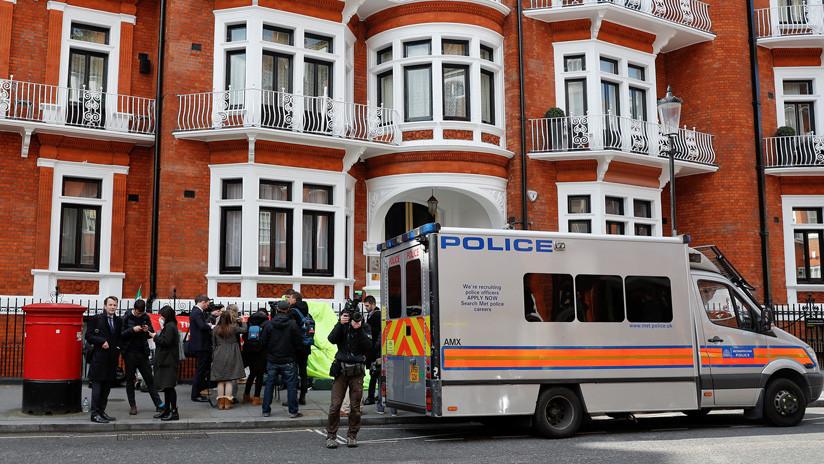 """WikiLeaks: """"Assange fue arrestado para su extradición a EE.UU. por las publicaciones"""""""