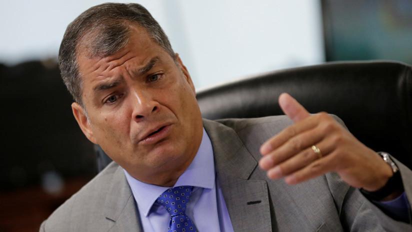 """Correa: """"Assange obtiene la información pero la publican los principales diarios, ¿dónde están los juicios contra ellos?"""""""