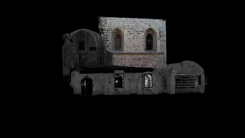 FOTOS: Crean un modelo 3D del edificio donde se presume tuvo lugar la última cena de Jesús
