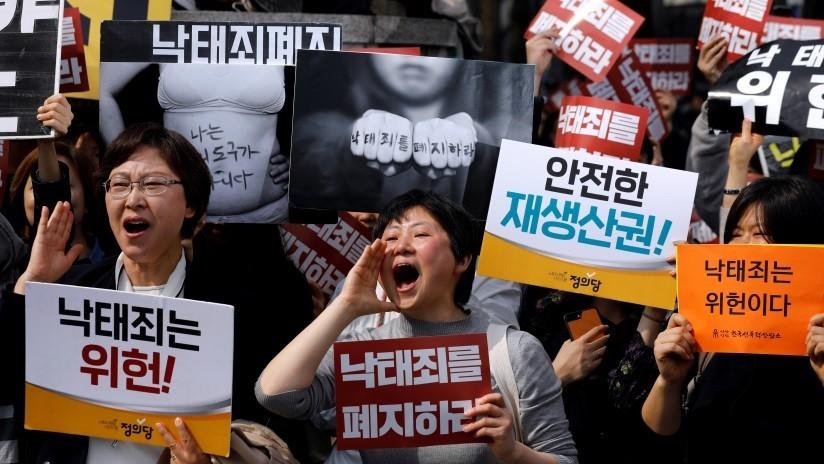 Corea del Sur legaliza el aborto tras 66 años de prohibición