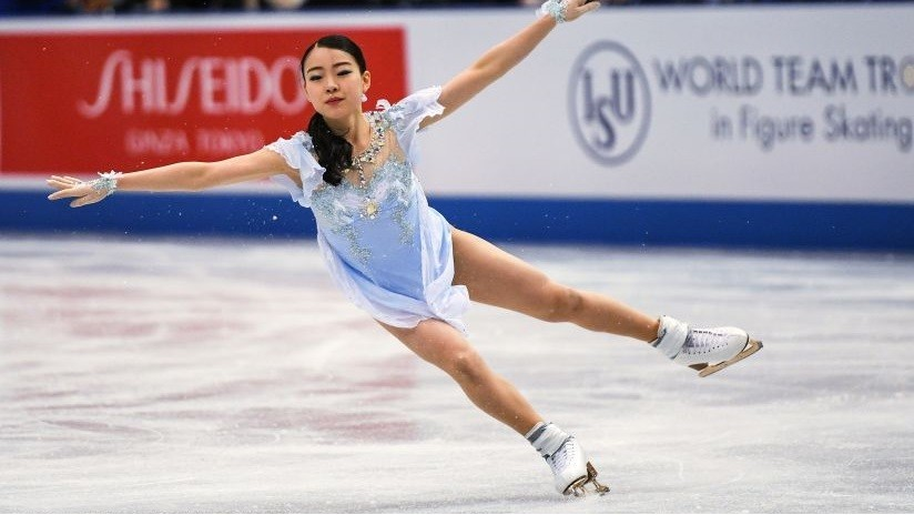 VIDEO: La japonesa Rika Kihira rompe récord mundial de patinaje artístico