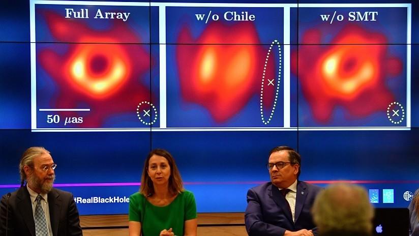 Dan nombre al agujero negro captado por primera vez en una foto