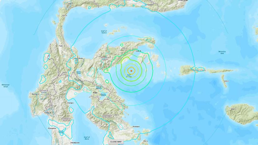 NOTICIAS MUNDO: Las estremecedoras imágenes que dejó el fuerte terremoto en Indonesia