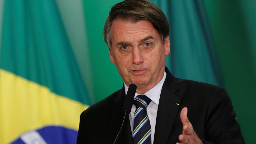 Bolsonaro afirma que Brasil vota en la ONU guiado por la Biblia