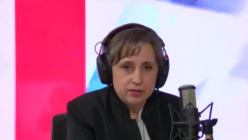 """Aristegui sobre Assange: """"¿Debe prevalecer la actuación contra los secretos de EE.UU. o la obligación de dar a conocer crímenes de guerra?"""""""