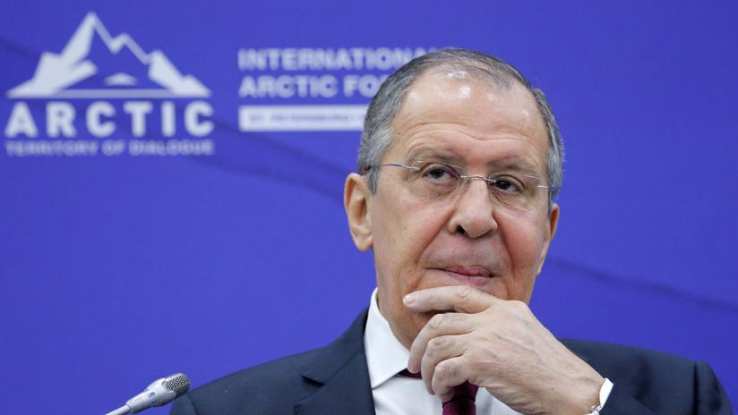 """Lavrov: """"EE.UU. ha desempolvado la doctrina Monroe y amenaza con que después de Venezuela seguirán Cuba y Nicaragua"""""""