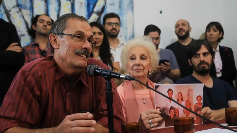 El padre de la 129.ª nieta recuperada en Argentina cuenta cómo la buscó durante 42 años