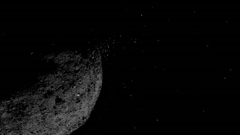 Detalladas fotos del asteroide Bennu, que podría impactar contra la Tierra