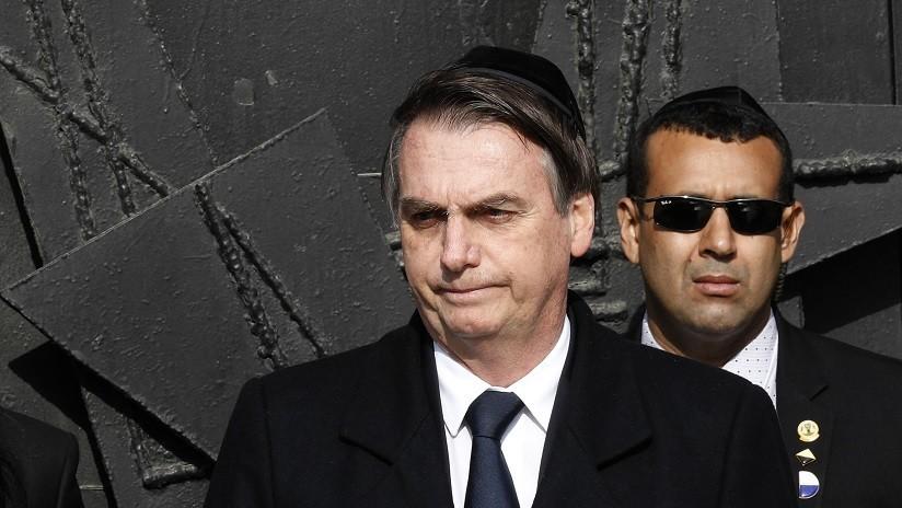 """El presidente de Israel responde a las palabras de Bolsonaro sobre el Holocausto: """"Nadie ordenará el perdón del pueblo judío"""""""