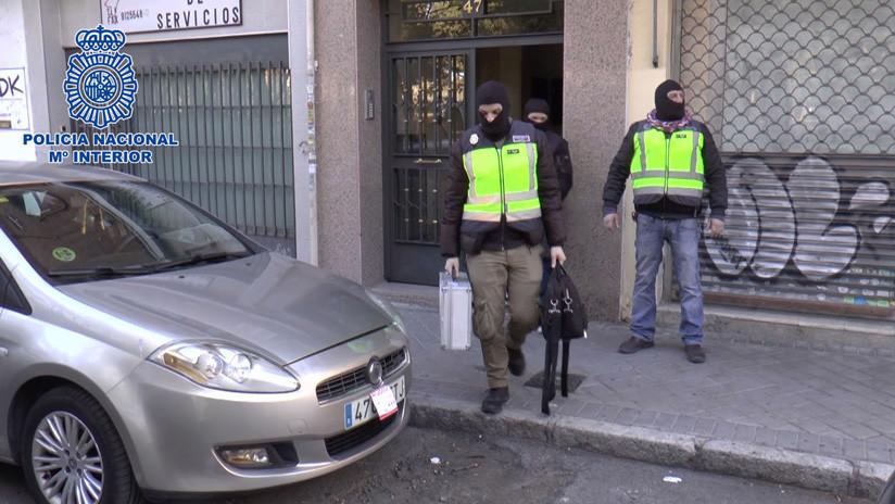Desarticulan en Madrid el órgano de comunicación del ELN colombiano