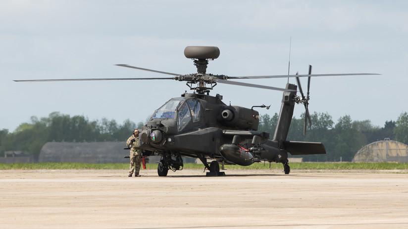 Imagen ilustrativa / Un Helicóptero Apache.