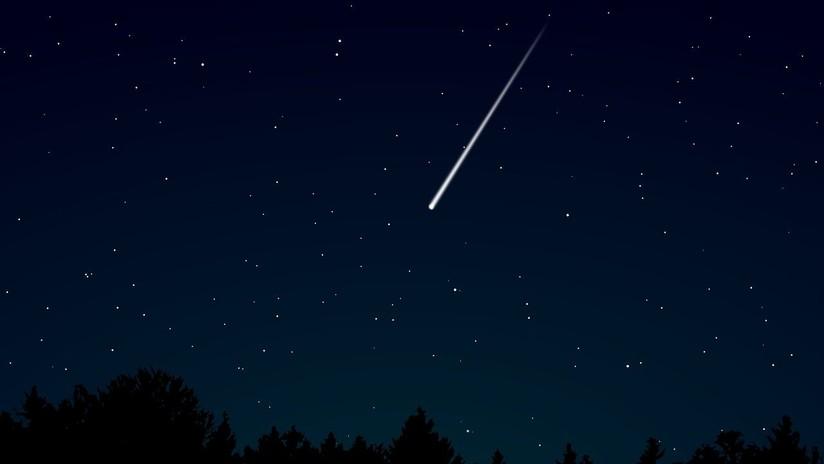 VIDEOS: Captan la espectacular caída de un meteoro en Brasil