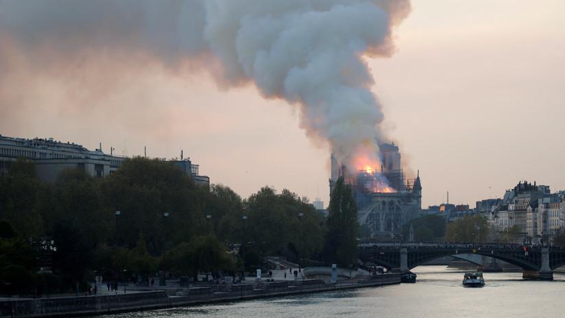MINUTO A MINUTO: La catedral de Notre Dame de París sufre un devastador incendio
