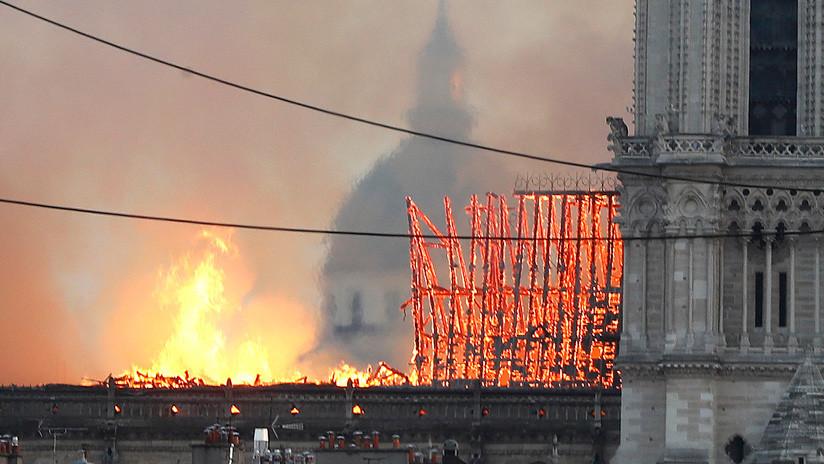 Revelan la posible causa del incendio de la catedral Notre Dame de París