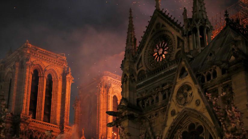 FOTOS: Primeras imágenes del interior de la catedral Notre Dame de París tras el devastador incendio