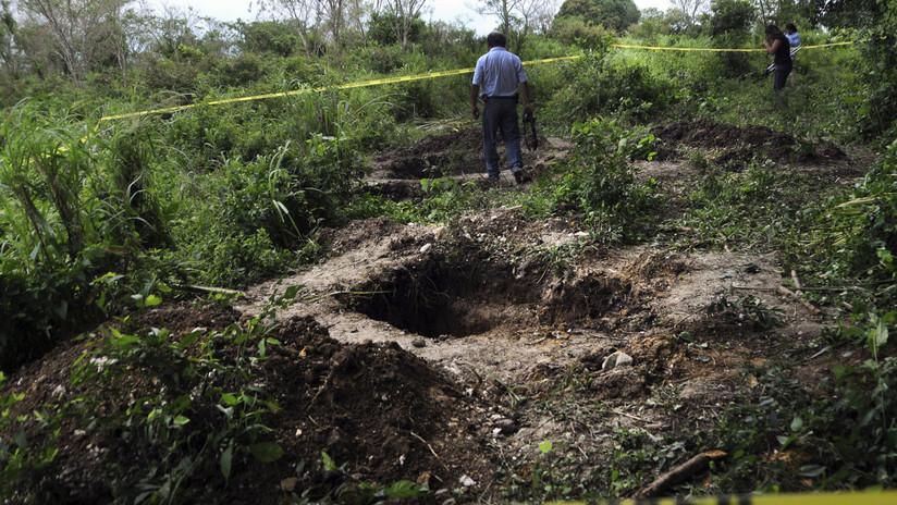 Hallan 45 cuerpos en fosas clandestinas de México durante las últimas semanas