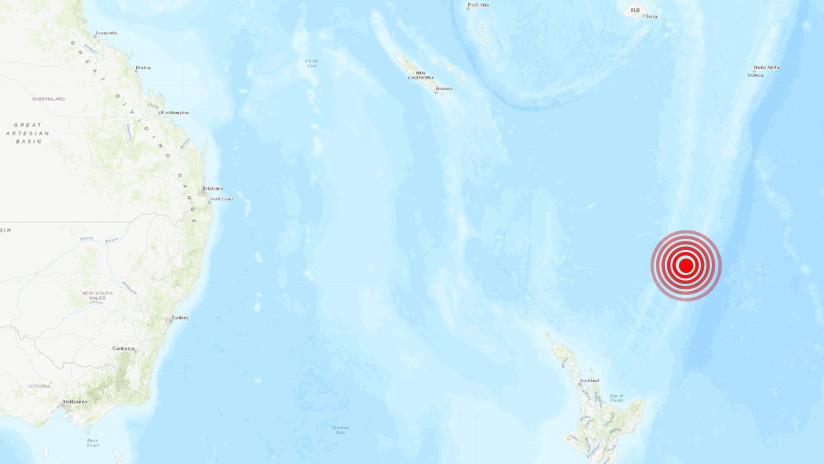 Nueva Zelanda: Se registran dos sismos de magnitud 5,8 y 5,7