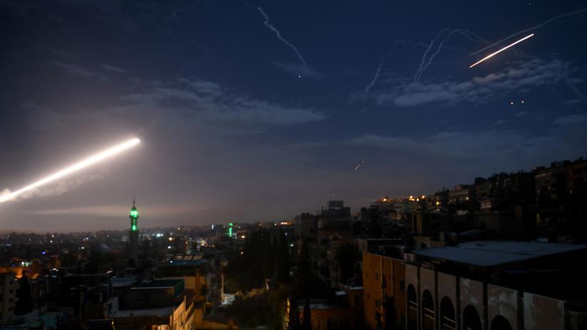 Imágenes satelitales muestran un ataque israelí contra una supuesta base iraní en Siria