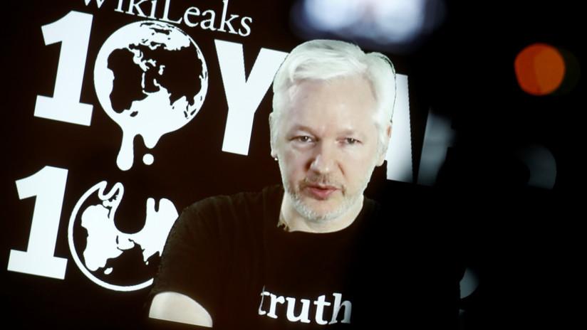 """EE.UU. revela un documento del caso contra Assange con una """"probable causa"""" para su extradición y arresto"""