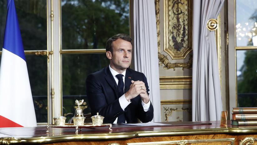 Macron promete reconstruir la catedral de Notre Dame en cinco años