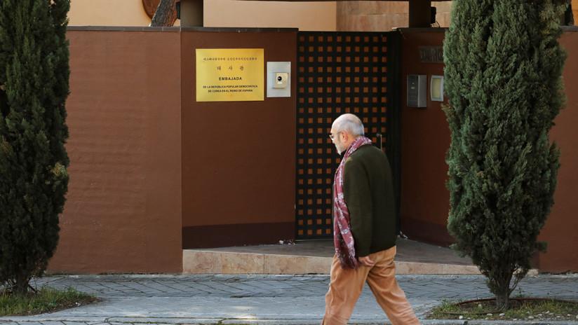 Autoridades españolas devuelven material robado a la Embajada de Corea del Norte en Madrid