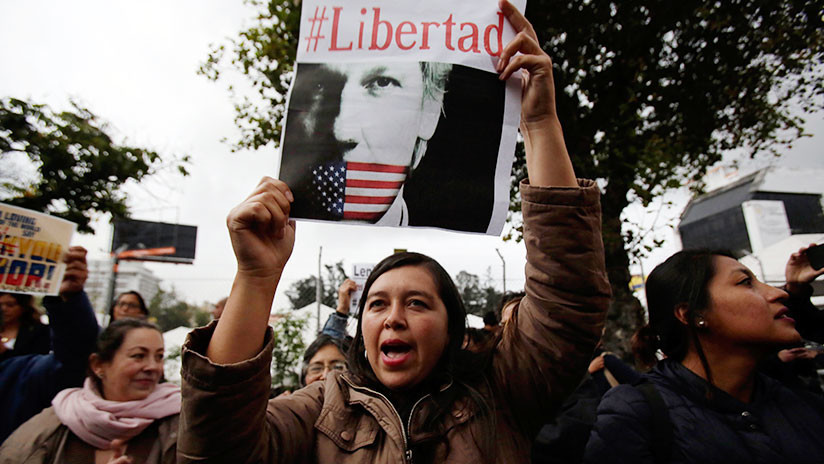 Ecuatorianos marchan en Quito contra gobierno de Lenín Moreno