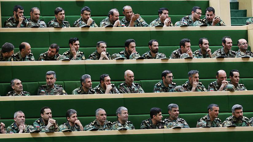 El Parlamento de Irán responde a EE.UU. y declara terroristas a sus fuerzas en Oriente Medio