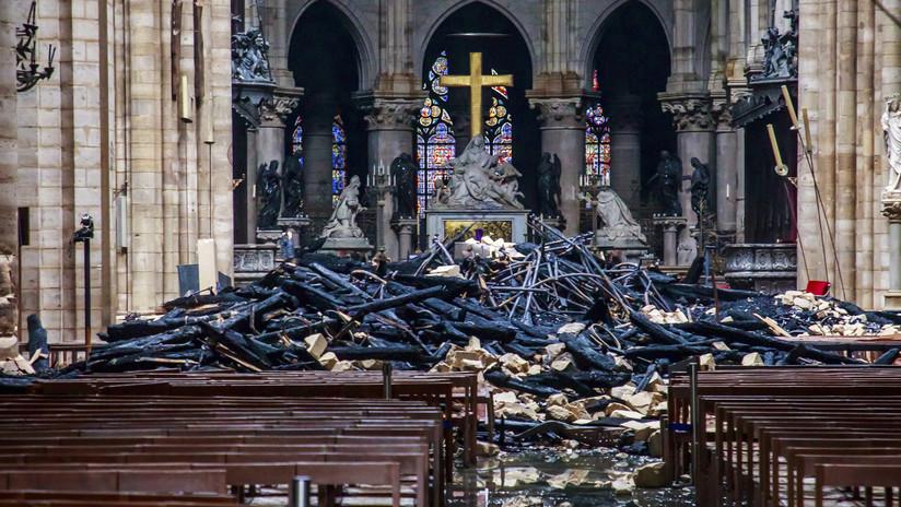 Una restauradora argentina sugiere otra posible causa del gran incendio en NotreDame